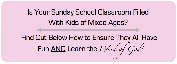 sunday school games for groups of mixed ages
