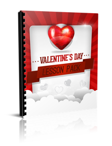valentines day lesson pack