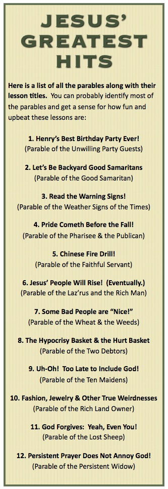 The Divine Dozen: 12 Parables of Jesus that Every Child Should Know