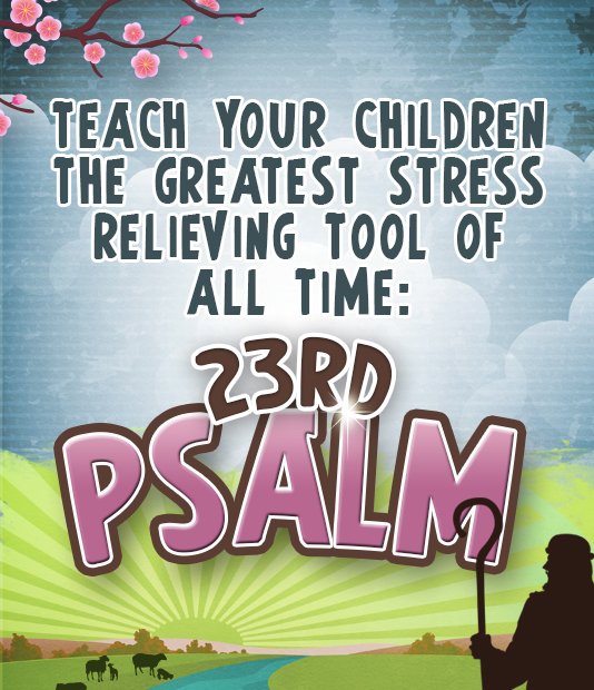 23rd Psalm Lesson Pack